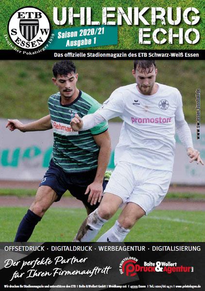 SW Essen - Stadionmagazin - Uhlenkrug Echo 1-2021