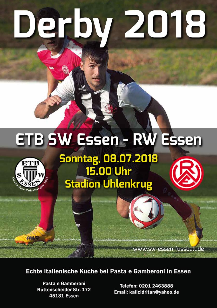 SW Essen - Stadionmagazin - Uhlenkrug Echo Derby - 2018